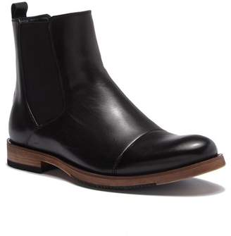 English Laundry Albans Cap Toe Chelsea Leather Boot