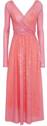 Emilio Pucci Embellished Tulle Gown