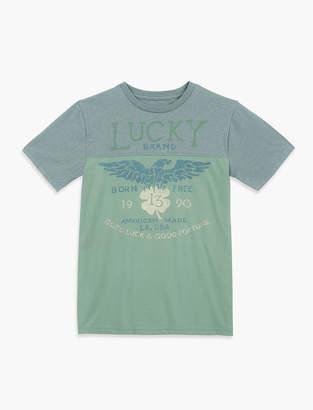 Lucky Brand PROUD EAGLE TEE