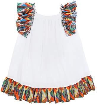 Stella Jean Maasai Cotton Poplin & Muslin Dress
