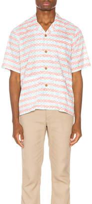 Visvim Ellery Haveli Shirt in Pink Pattern | FWRD