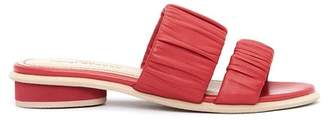 Kelsi Dagger Brooklyn Surf Leather Slide Sandal