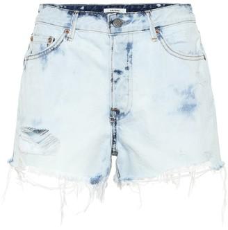 GRLFRND The Cindy high-rise denim shorts