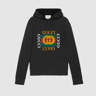 Gucci (グッチ) - グッチ ロゴ コットン スウェットシャツ