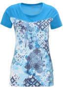 manguun sports T-Shirt, atmungsaktiv, schnelltrocknend, Mustermix, für Damen