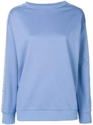 Moncler logo trim sweatshirt