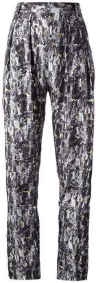 Stine Goya pyrate print 'Pellicule' trouser