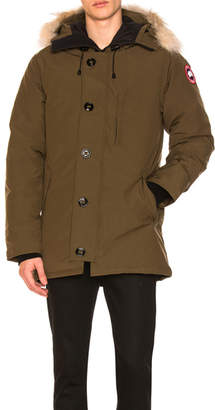 Canada Goose Chateau Parka With Coyote Fur Trim