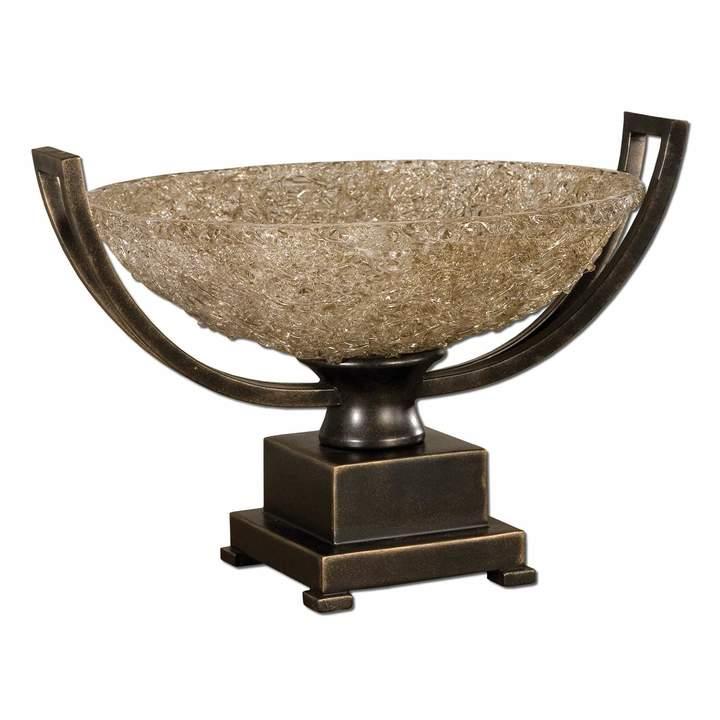 Kohl's Crystal Palace Bowl Centerpiece Decor