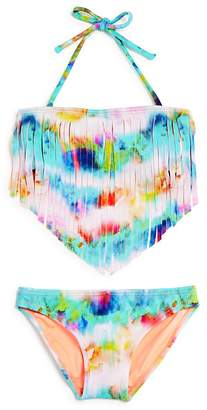 Peixoto Girls' Magnolia Fringe 2-Piece Swimsuit - Big Kid