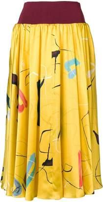 Roksanda elasticated waist skirt