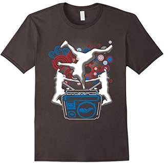 Retro Dance Music Shirt Hip Hop 80s 90s Dancing Dancer