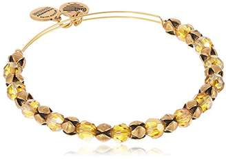 Alex and Ani The Mystical and The Magical Snowbell Expandable Wire Golden Days Bangle Bracelet