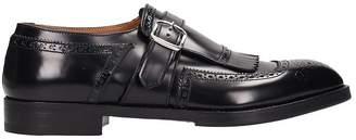 Premiata Black Shiny Leather Loafers