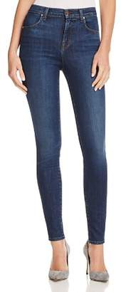 J Brand Maria High Rise Skinny Jeans in Fleeting