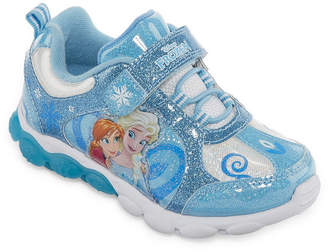 Disney Frozen Girls Walking Shoes Slip-on