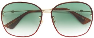 Gucci oversized circle framed sunglasses