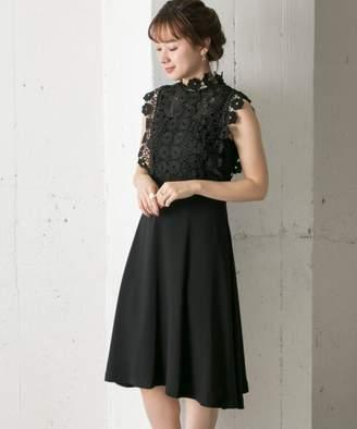 Couture MAISON レーストップフレアドレス