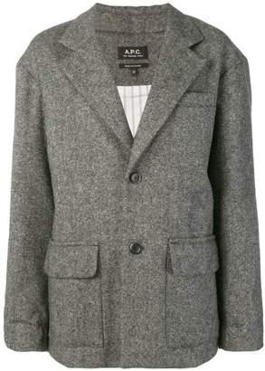 A.P.C. flap pocket blazer