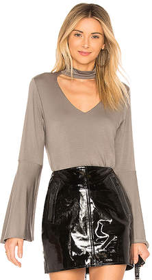 Sen Livingston Exaggerated Sleeve Top