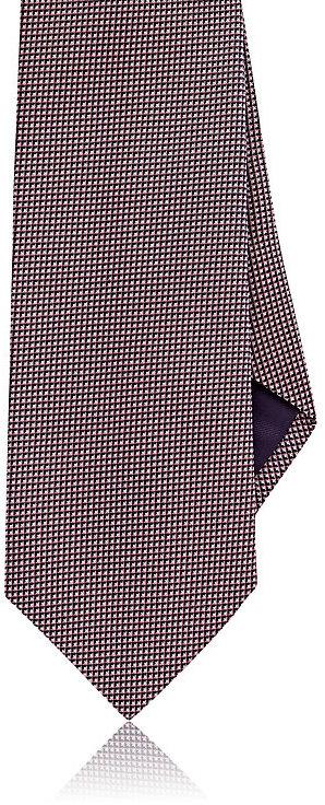 Ralph Lauren Purple LabelRalph Lauren Purple Label Men's Neat Silk Necktie-Pink, Navy, White