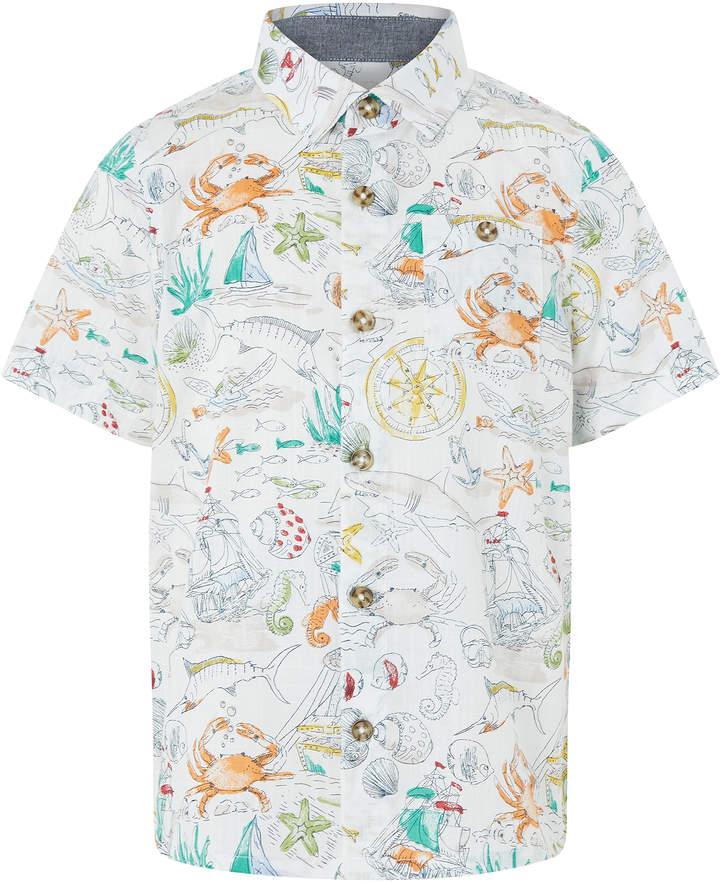 Sketch Print Shirt