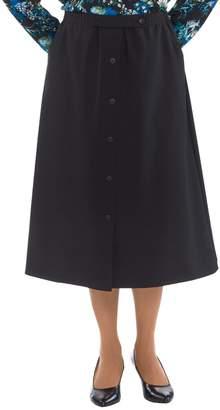Silverts Disabled Elderly Needs Elastic Waist Skirt With Pockets