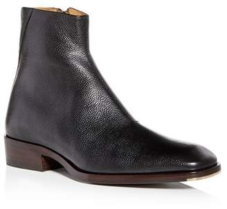 Jimmy Choo Men's Lucas Leather Square Toe Boots