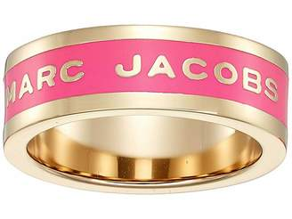 Marc Jacobs Band Logo Disc Ring