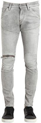 16cm 5620 3d Zip Super Slim Denim Jeans $213 thestylecure.com
