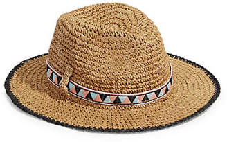 Echo Crochet Chevron Panama Hat