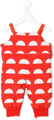 Bobo Choses patterned padded overall
