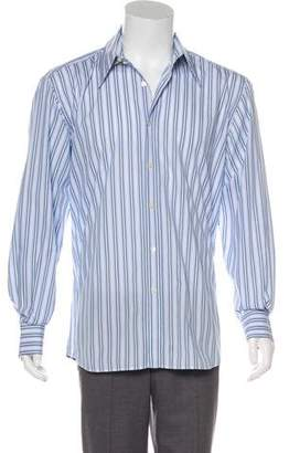 Dolce & Gabbana Striped French Cuff Shirt