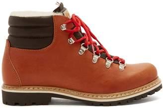 Margherita MONTELLIANA leather après-ski boots