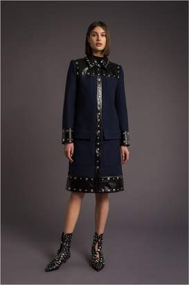 Sonia Rykiel Military Wool Coat