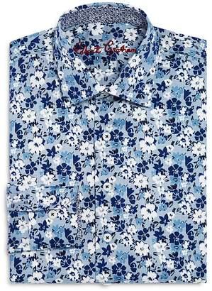 Robert Graham Boys' Floral Dress Shirt - Big Kid