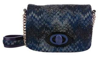 Missoni Woven Glitter Shoulder Bag