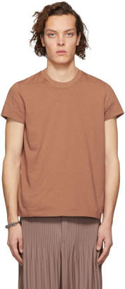 Rick Owens Red Short Level T-Shirt