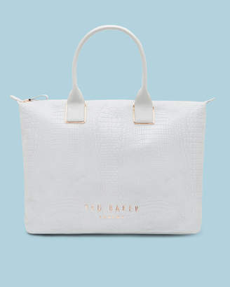Ted Baker REMAA Textured large tote bag