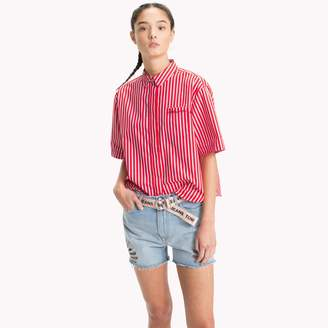 Tommy Hilfiger Short-Sleeve Stripe Shirt