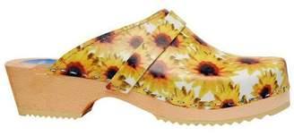 Cape Clogs Sunflowers Style Clogs