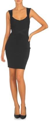 GUESS Knit Little Black Bandage Dress