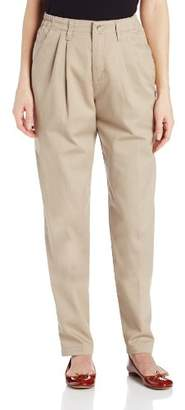 Lee Women's Missy Relaxed-Fit Pleated Pant