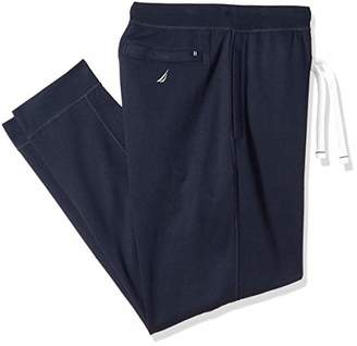 Nautica Men's Big and Tall Modern Styling Jogger with Elastic Waistband