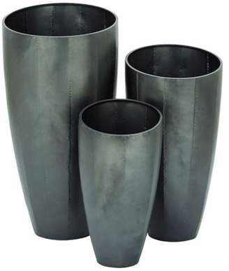 GwG Outlet Metal Planter Set of 3, 20, 25