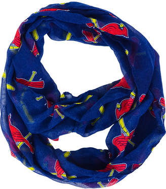Forever Collectibles St. Louis Cardinals All Over Logo Infinity Wrap Scarf