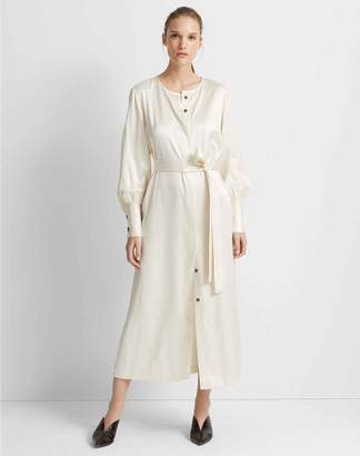 Club Monaco Silk Shirtdress