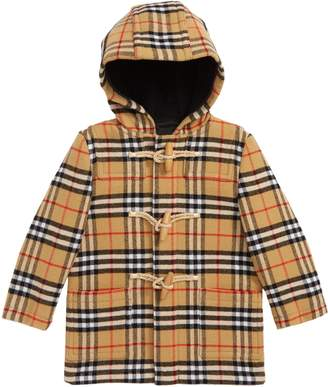 fc7b79eefc Burberry Brogan Hooded Wool Toggle Coat