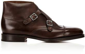 John Lobb Men's William II Double-Monk-Strap Boots