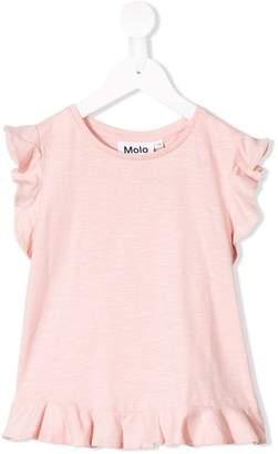 Molo ruffle trimmed T-shirt
